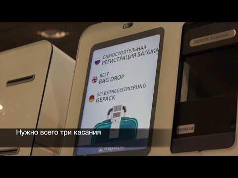 Домодедово и S7 внедрили систему самостоятельной сдачи багажа SelfBagDrop
