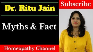 Side effects of Homeopathy Medicine in Hindi - Myths & Facts - 2018 Dr. Ritu Jain