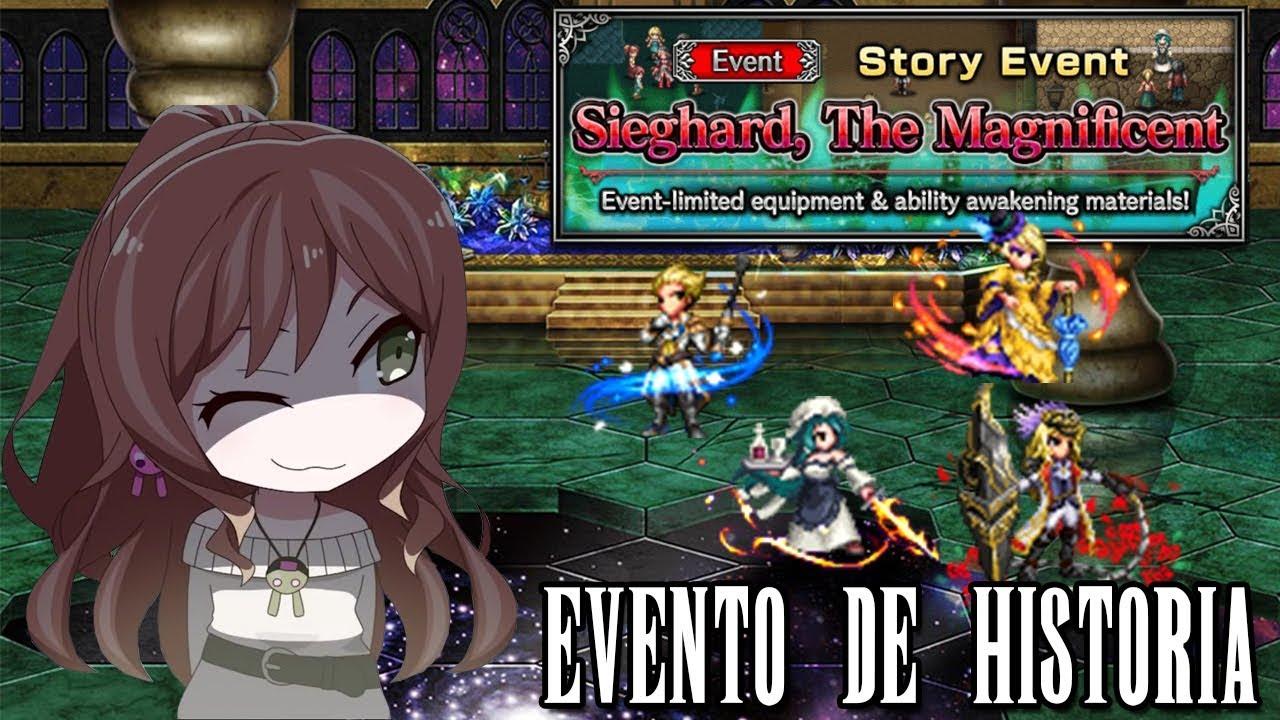 |FFBE| Evento Final Boss : Misión Especial de Sieghart ! - YouTube