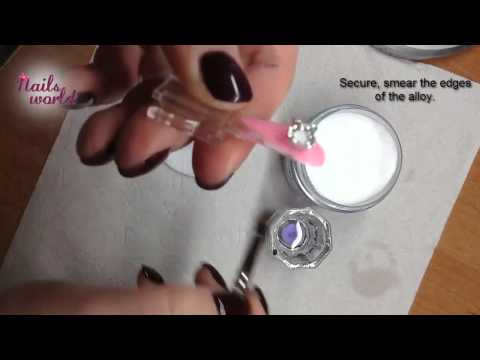 Nails World UK - How to stick alloy to the nail?
