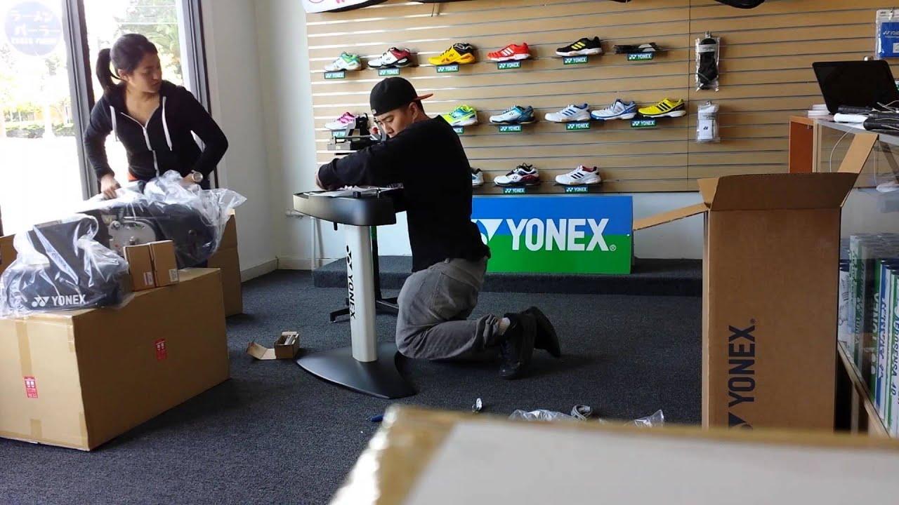 yonex badminton stringing machine