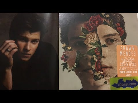Shawn Mendes - Shawn Mendes (Self-Titled) Deluxe Edition Unboxing