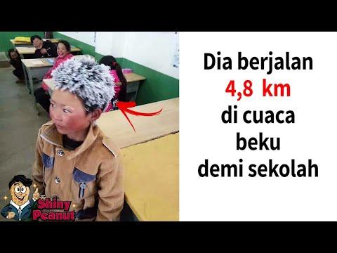 VIRAL! Inilah Perjuangan Anak di Dunia Berangkat Sekolah