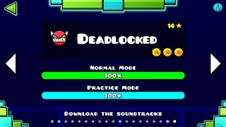 DEADLOCKED FULL LEVEL [FANMADE] !!! | Geometry Dash [1.9] | Deadlocked by Nik Gambardella