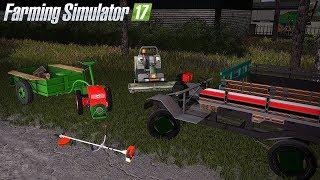 Prace komunalne w Farming Simulator 17 Koszenie/Ścinanie/Sprzątanie