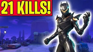 EPIC *21 KILL WIN* IN FORTNITE BATTLE ROYALE!! (Solo Gameplay) thumbnail