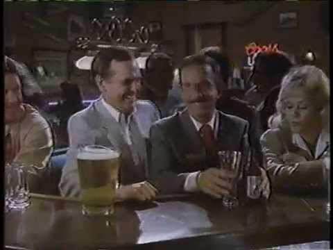 Don Adams & Ronnie Schell 1987 Coor Light Beer Commercial