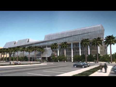 Infographic video of the IMAR facade for the College of Science - Kuwait University