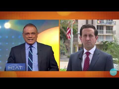 On China Global Television during Hurricane Maria 1 year Anniversary