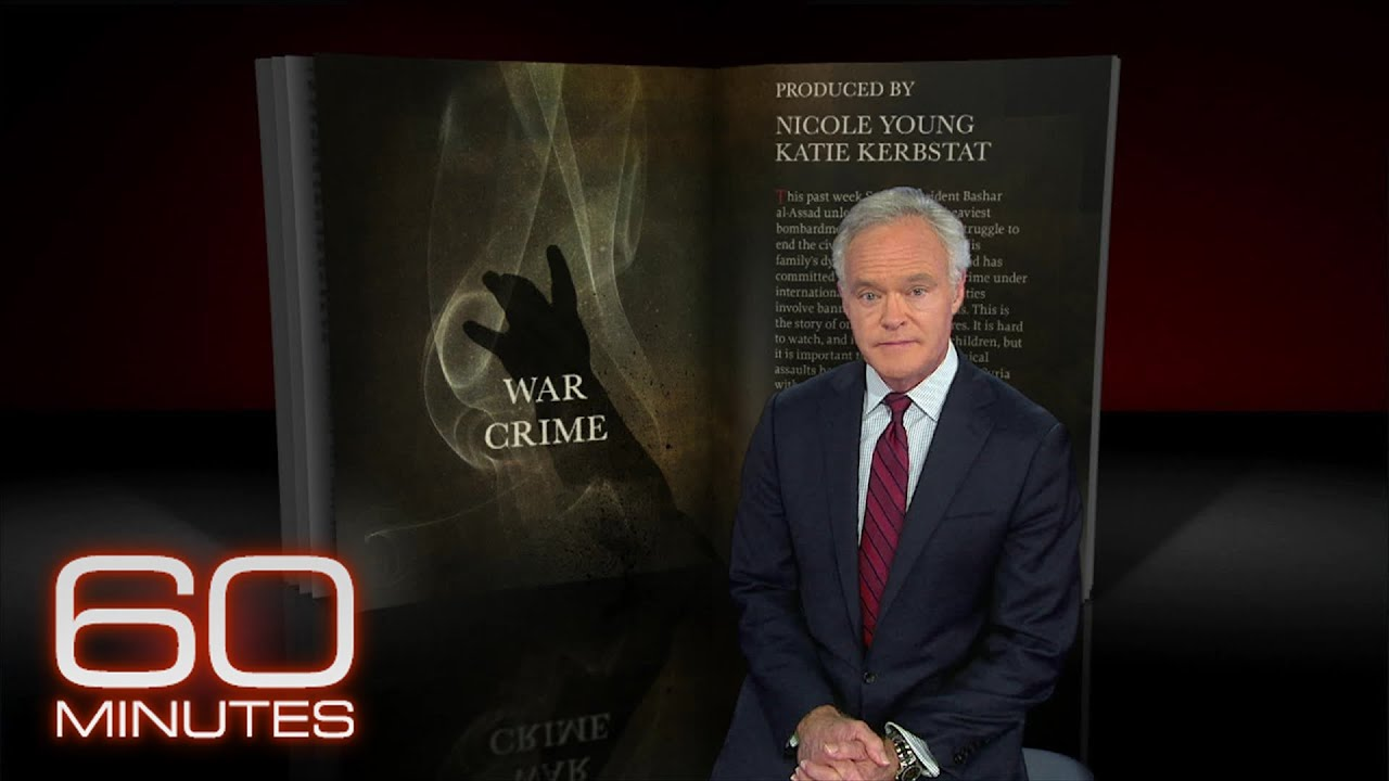 From the 60 Minutes Archive: War Crime