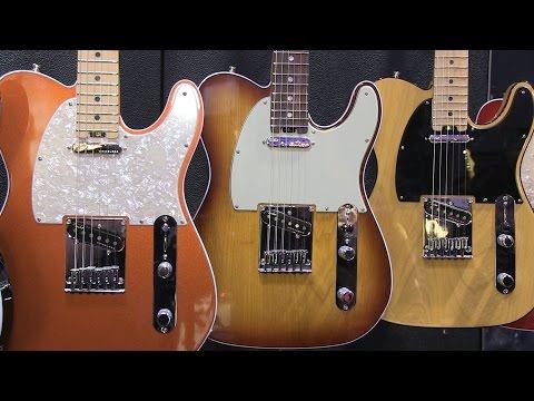 Winter NAMM 2016: Fender American Elite Series Guitars