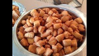 Easy Homemade Shakkar Para Recipe - 3 Ingredient  Indian Snacks - Happy New Year 2017