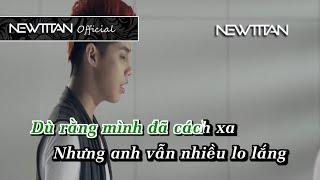 [Karaoke] Em sẽ hạnh phúc - Noo Phước Thịnh Full Beat Phối Chuẩn