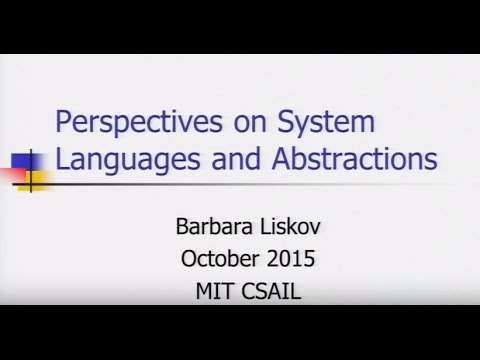 Perspectives on system languages and abstraction