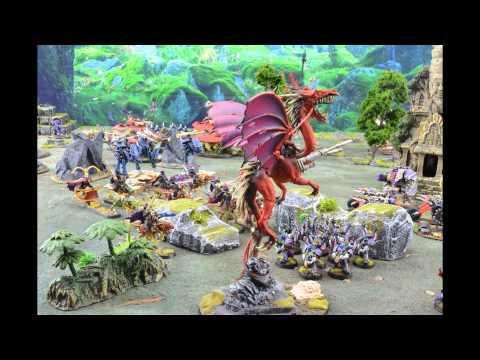 Warhammer 40k Stop Motion Battle Report Season 2 Battle 16 Eldar Exodites v Chaos