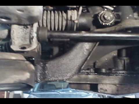 98 Ford Windstar Power Steering Rack Replacement Youtube