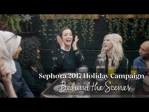 Sephora Employees Behind the Scenes - 2017 Holiday Campaign
