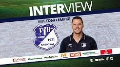 Interview mit Toni Lempke vor dem Spiel VfL Hohenstein Ernstthal vs. VfB 1921 Krieschow