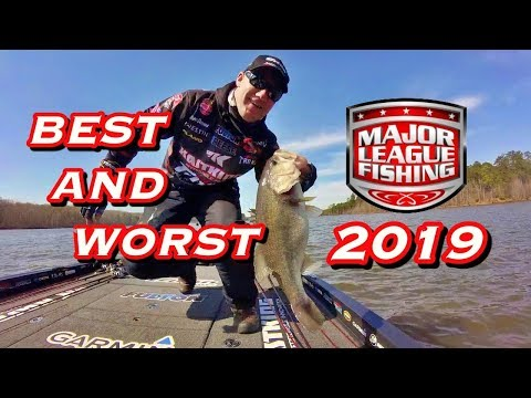 BEST And WORST Of Major League Fishing Bass Pro Tour 2019