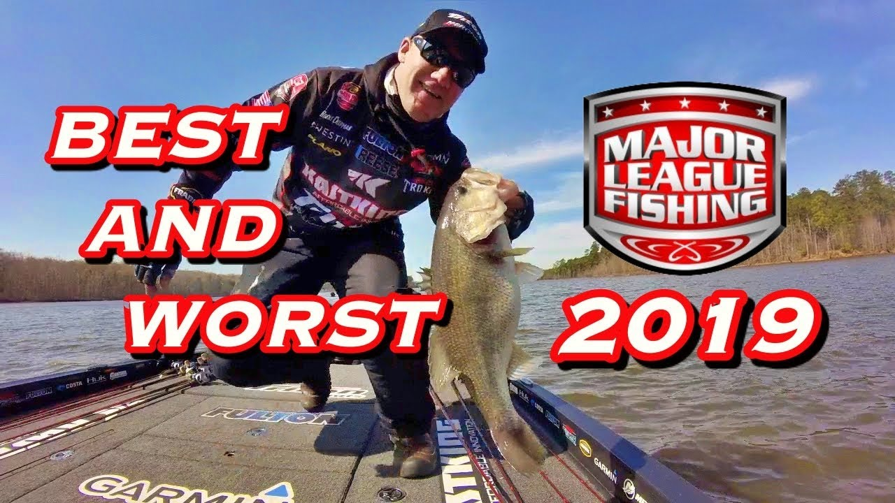 BEST and WORST of Major League Fishing Bass Pro Tour 2019 ...