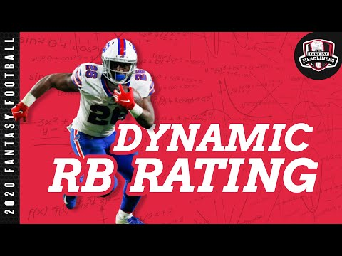2020 Fantasy Football Advice - Dynamic Running Back Rankings - Finding The Best RB's