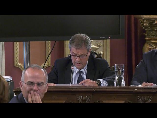Pleno del Concello de Ourense - 9 de Agosto de 2019
