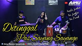 Gambar cover DITINGGAL PAS SAYANG SAYANGE - JARANAN DANGDUT (ARYA SATRIA )