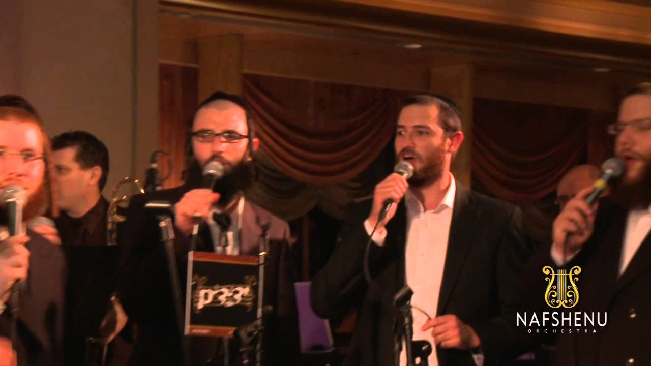 Nafshenu Orchestra Performing Ki Hirbeisa Featuring Dovid Gabay & Yedidim Choir