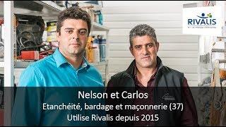 Témoignage Clients Rivalis - Nelson et Carlos, entreprise d'étanchéité (37)