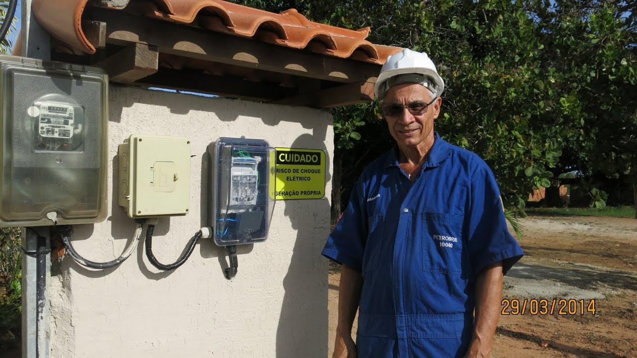 Como fazer para ter eletricidade solar em sua casa parte for Montar placas solares en casa