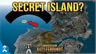We Visited what we thought was a Secret Island in PUBG in Search of Loot!