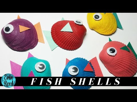 Painted Fish Shell Kids Craft **GIVEAWAY CLOSED**