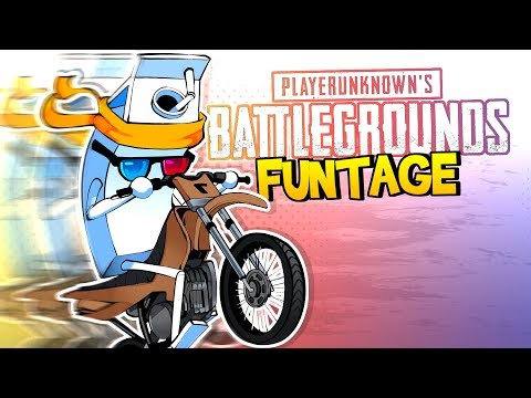 PUBG FUNTAGE! - Motorbike MADNESS 'AND' More!