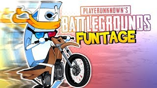 "PUBG FUNTAGE! - Motorbike MADNESS ""AND"" More!"