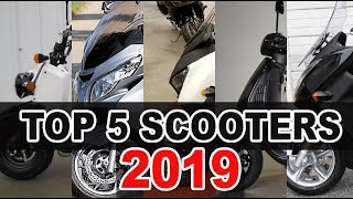 TOP 5 SCOOTERS 2019 (PHILIPPINES)