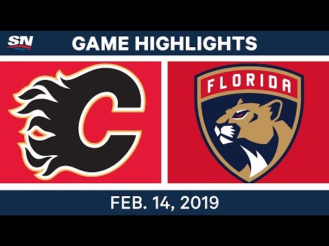 nhl-highlights-|-flames-vs.-panthers---feb-14,-2019