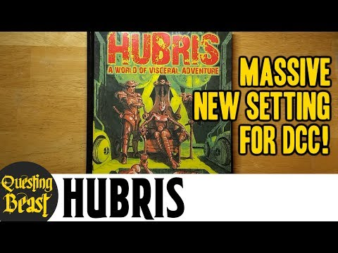 Hubris: A World of Visceral Adventure: Dungeon Crawl Classics Book Review