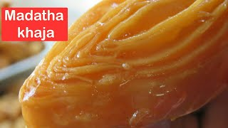 Video Madatha Kaja recipe in Telugu-How to make madatha khaja at home inTelugu-Khaja recipe/Tapeswaram Kha download MP3, 3GP, MP4, WEBM, AVI, FLV Oktober 2018