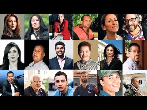 Newseum to Add 18 Journalists Killed in 2017 to Journalists Memorial on June 4