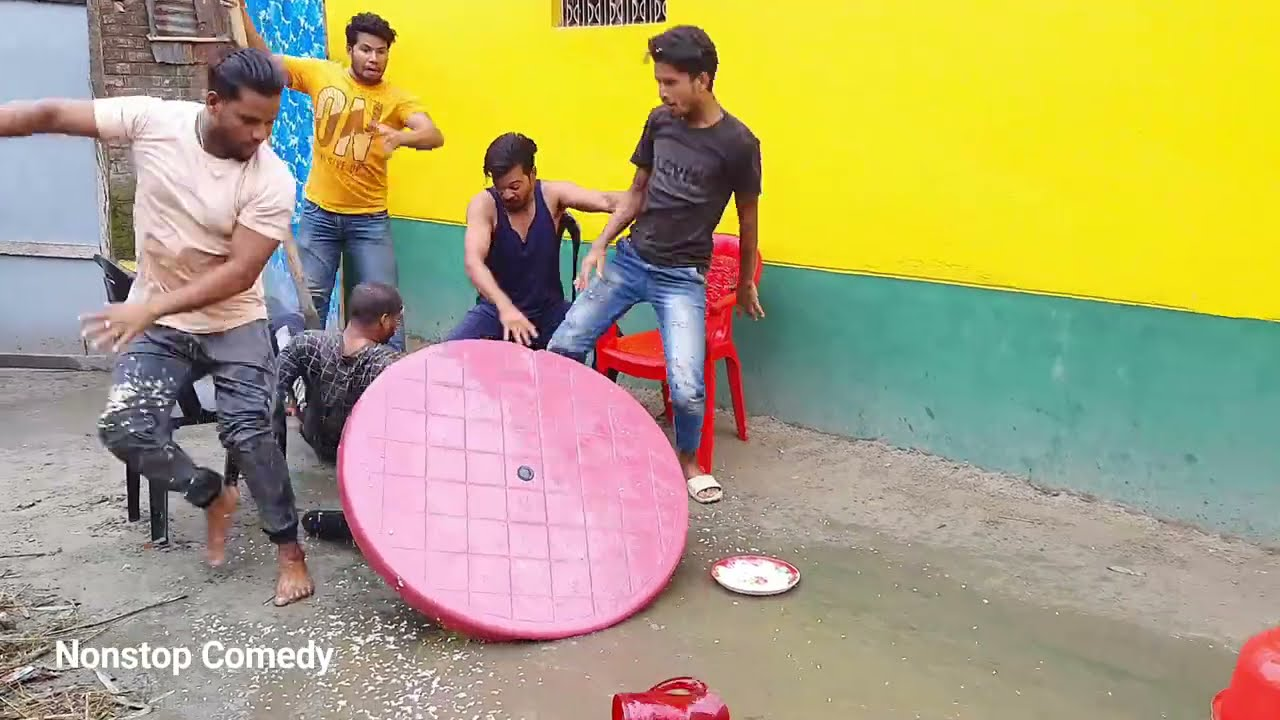 Must Watch New Funny Video 2021 Top New Comedy Video 2021 Try To Not Laugh By NonStop Comedy