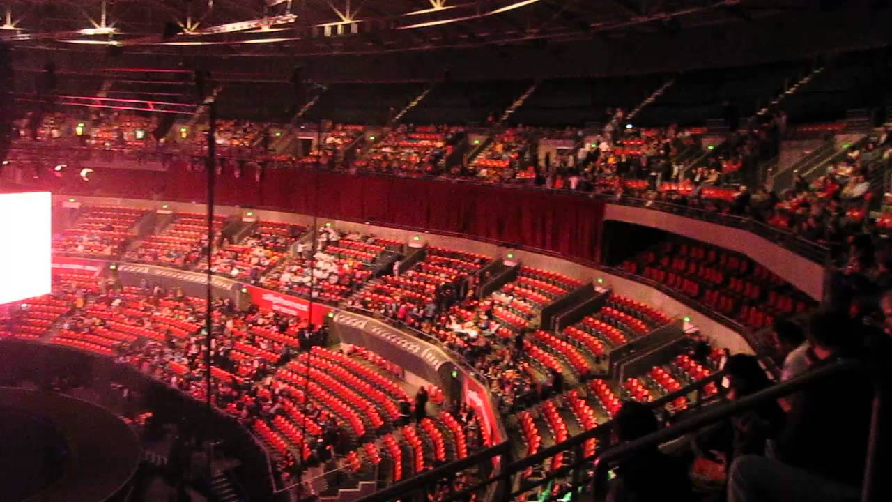 Allphones Arena Hillsong Conference 2013 Setup Youtube