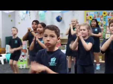 British International School of Charlotte Flash Mob 2018