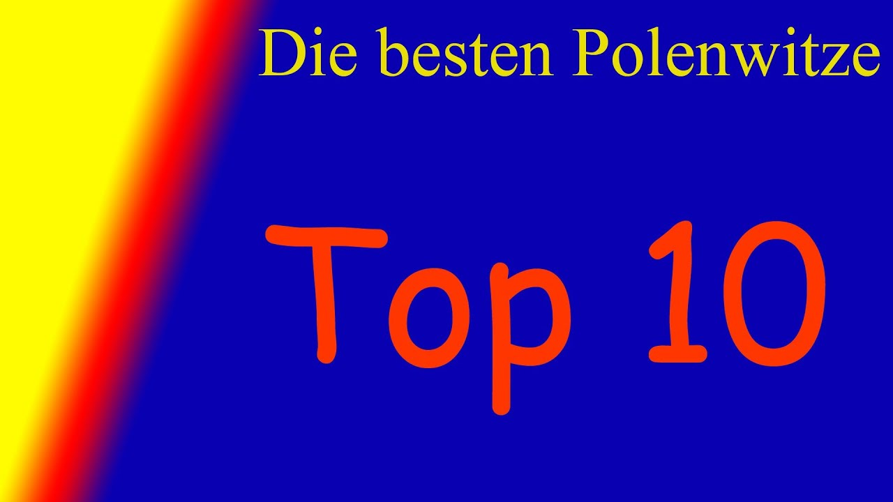 elitejoke top 10 der besten polenwitze youtube. Black Bedroom Furniture Sets. Home Design Ideas