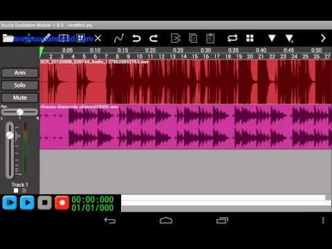 Use Audio Evolution To Remix On Android