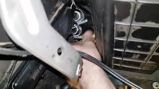 Замена патрубков радиатора печки Нива Шевролет с кондиционером