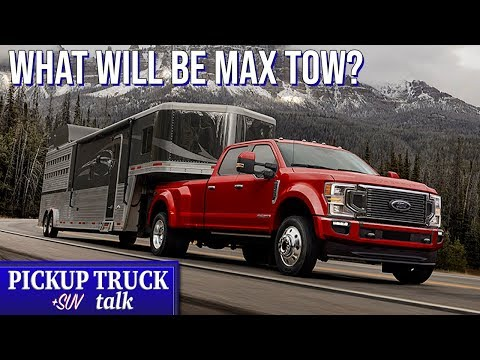 Over/Under - 36,000 lbs max towing 2020 Ford F350 Super Duty