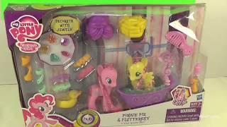 My Little Pony Pinkie Pie & Fluttershy Toy Review! by Bin's Toy Bin