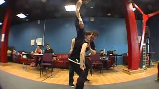 Актерское мастерство (урок акробатики 1)Actor training.