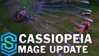 Cassiopeia - Mage Update 2016