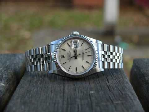 Rolex DateJust Mens Watch Review and Opinion 16233 16234